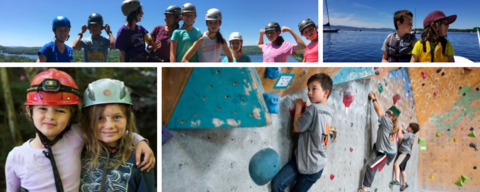 Petra cliffs rock climbing youth and kids programs burlington vermont