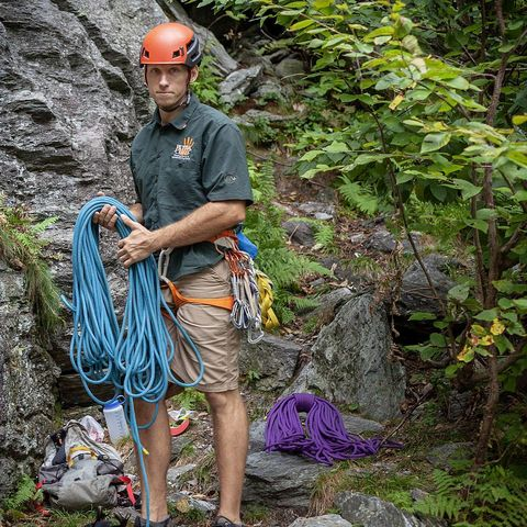 Tim Farr Petra Cliffs Guide and USAC level 1 routesetter in Burlington Vermont rock climbing