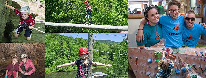 Kids climbing camps in Vermont